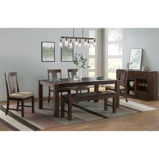 Regal Brown 6 Piece Dining Set