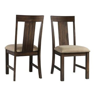Regal Brown Side Chair