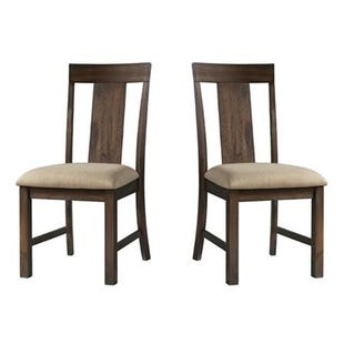 Regal Brown Set of 2 Chairs