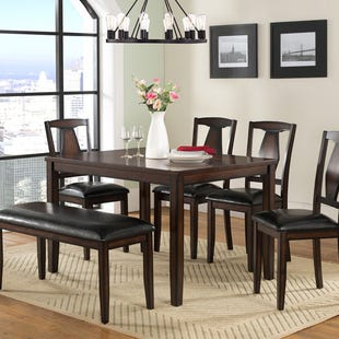Sedona 6 Piece Dining Table Set
