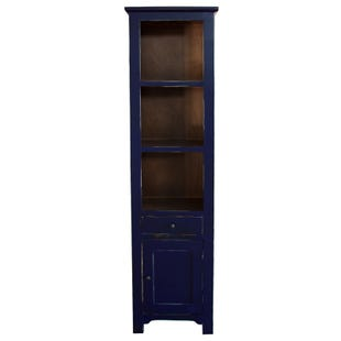 Rivera Navy Storage Bookcase