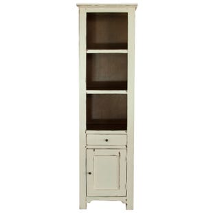 Rivera Vanilla Storage Bookcase
