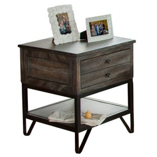 Moro Gray End Table