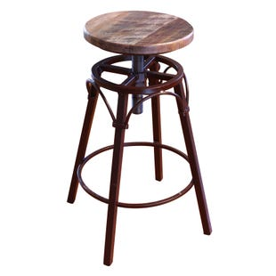 Antique Multicolor Stool