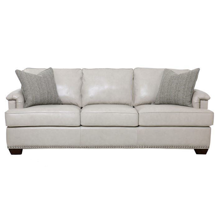 Higgins Top Grain Leather Sofa Weekends Only Furniture