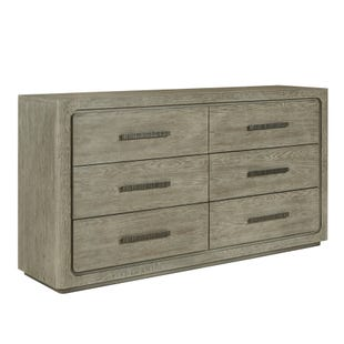 Vancouver 6 Dawer Dresser Heathered Stone