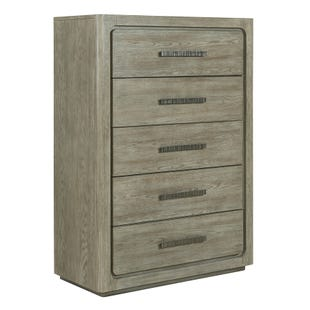 Vancouver Heathered Stone 5 Drawer Chest