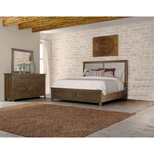 Talley's Crossing Queen Upholstered Storage 3 Pc Bedroom Set