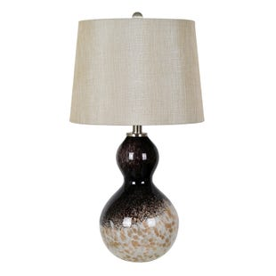 Espresso Bean Glass Lamp