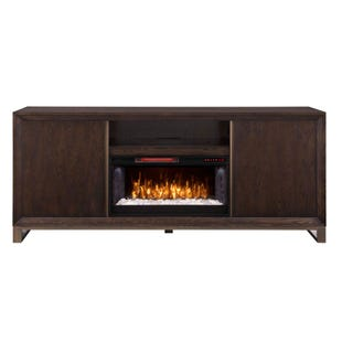 "Eastwick Coffee Oak 72"" Modern Media Console"