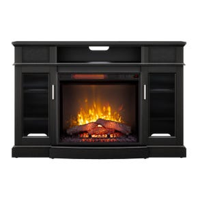 """Freemont Espresso 48"""" Fireplace Console with Sound Bar"""
