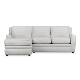 Riley Beige Left Side Facing Sofa Chaise