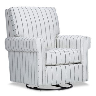 Grace Striped Rocker Glider