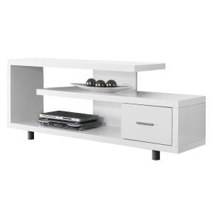 """Montreal White 60"""" TV Stand"""
