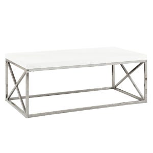 Montreal White Coffee Table