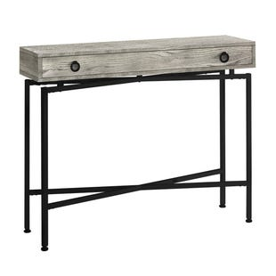 "Montreal Gray Reclaimed 42"" Accent Table"