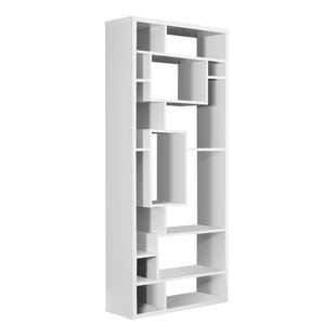"Montreal White 72"" Bookcase"