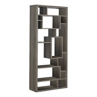 "Montreal Taupe 72"" Bookcase"