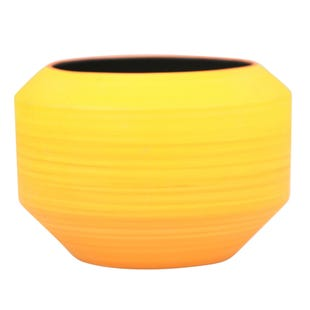 Yellow Ombre Vase