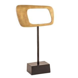 Gold Rhombus Geo on Stand