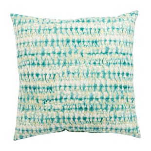 Veranda Light Blue Outdoor Throw Pillow