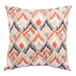 Veranda Langoustin Outdoor Throw Pillow