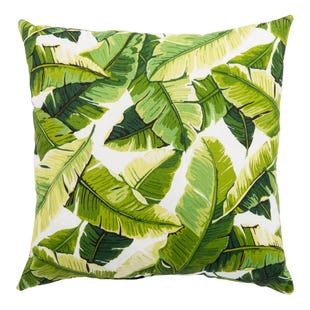 Veranda Foliage Outdoor Throw Pillow