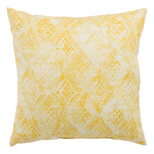 Veranda Old Gold Outdoor Throw Pillow