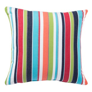 Jaipur Living Shoreline Indoor/ Outdoor Stripe Throw Pillow