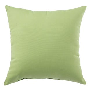 Terrace Green Outdoor Throw Pillow