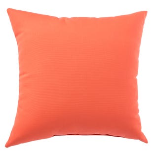 Terrace Mandarin Red Outdoor Throw Pillow