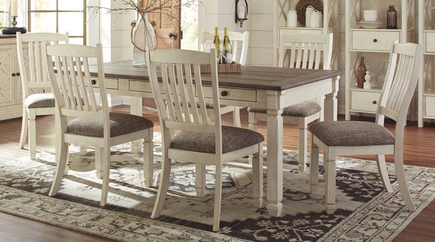 Ashley Bolanburg 7 Piece Dining Set for $877 | Shop Now