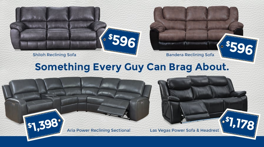 Leather Reclining Sofas and Sectionals | Shop Now
