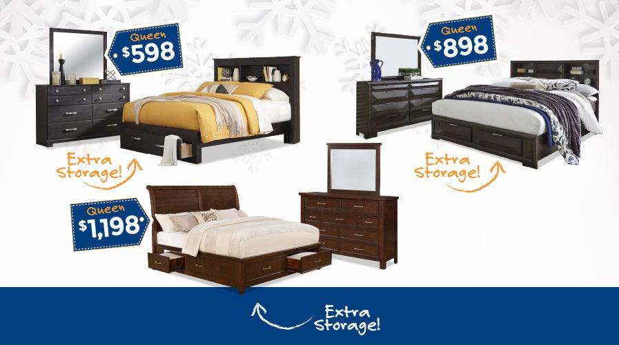 Shop Bedroom Sets with Storage | Weekends Only