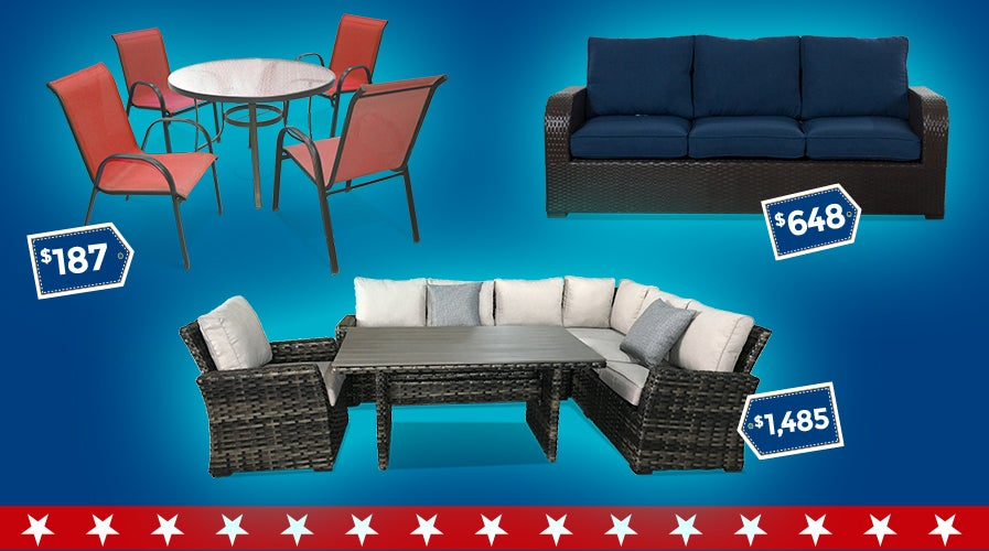 Memorial Day Patio Deals | Weekends Only Furniture and Mattress