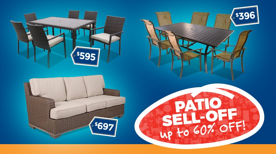 Patio Furniture Sell-Off Deals | Shop Now