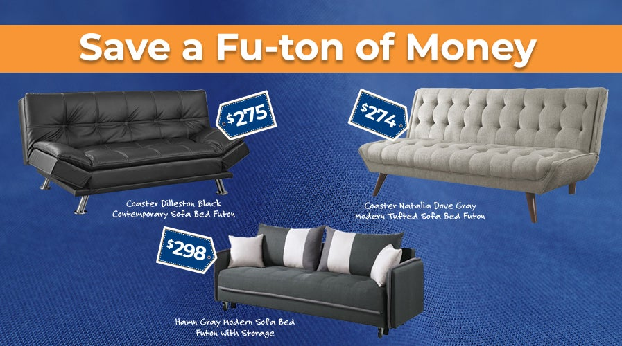 Futons and Sleeper Sofas | Weekends Only Furniture and Mattress