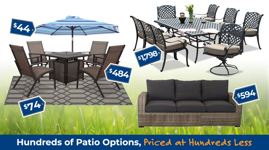 Shop Patio Furniture at Weekends Only | Shop Now