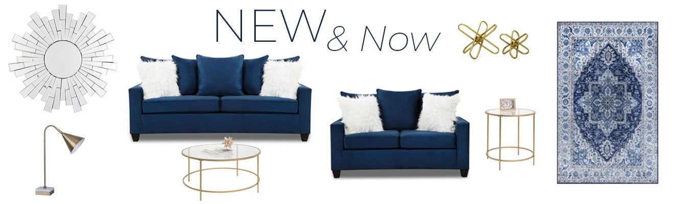 New Arrivals - Trending Sofas, Loveseats, Accents, and Decor