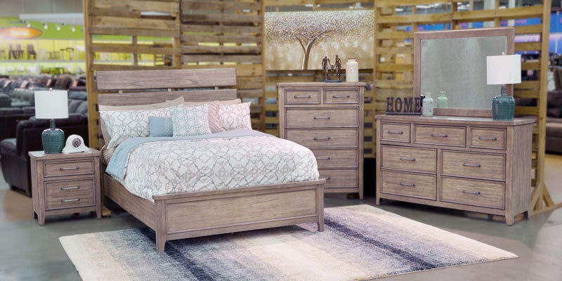 Refined Rustic Bedroom