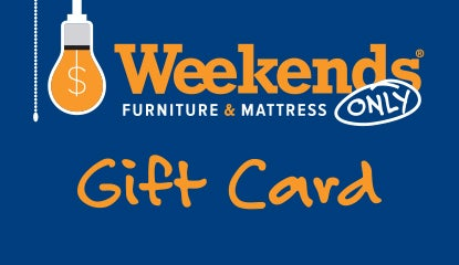 Weekends Only Gift Card