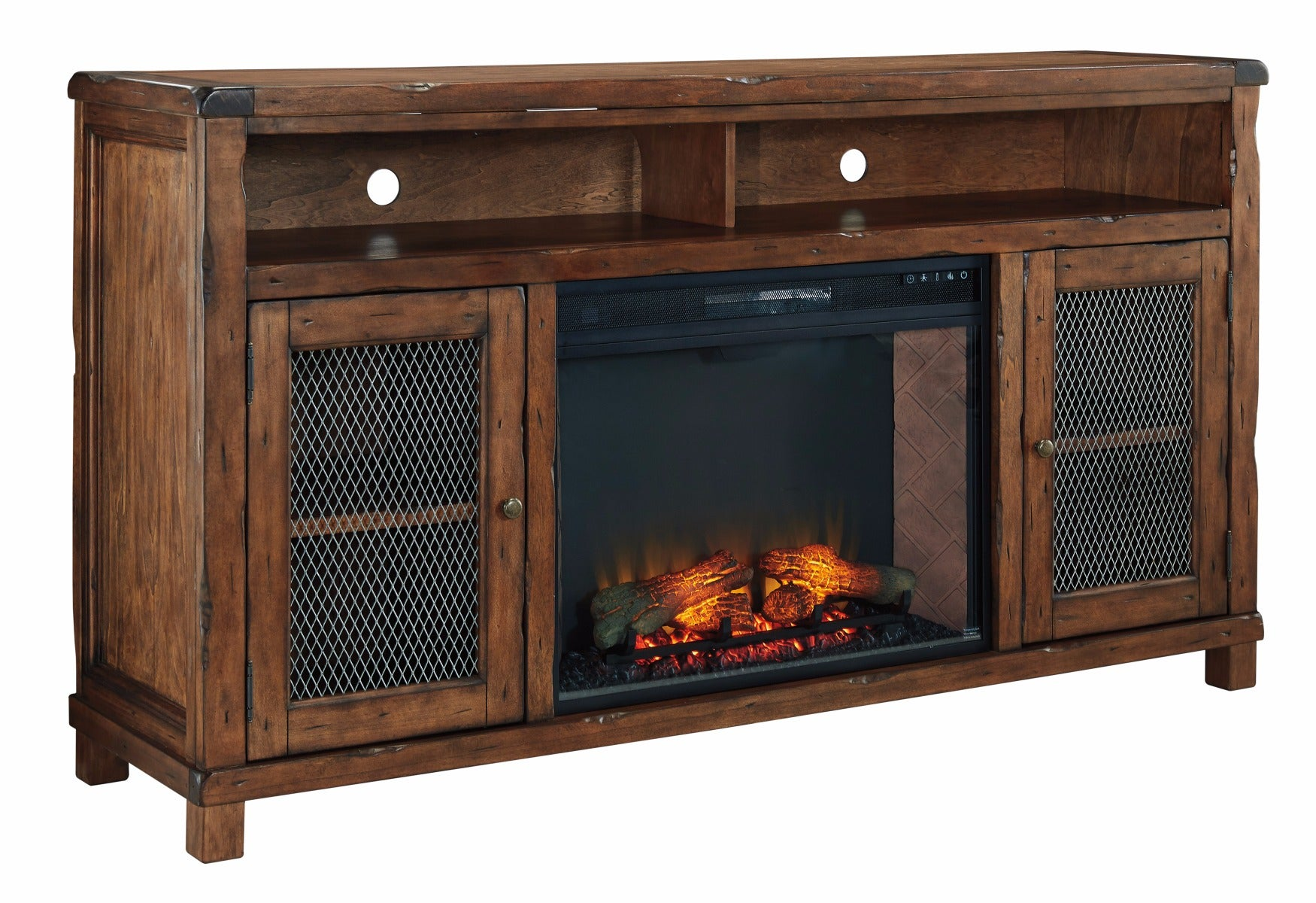 "Ashley Tamonie 72"" Media Fireplace"