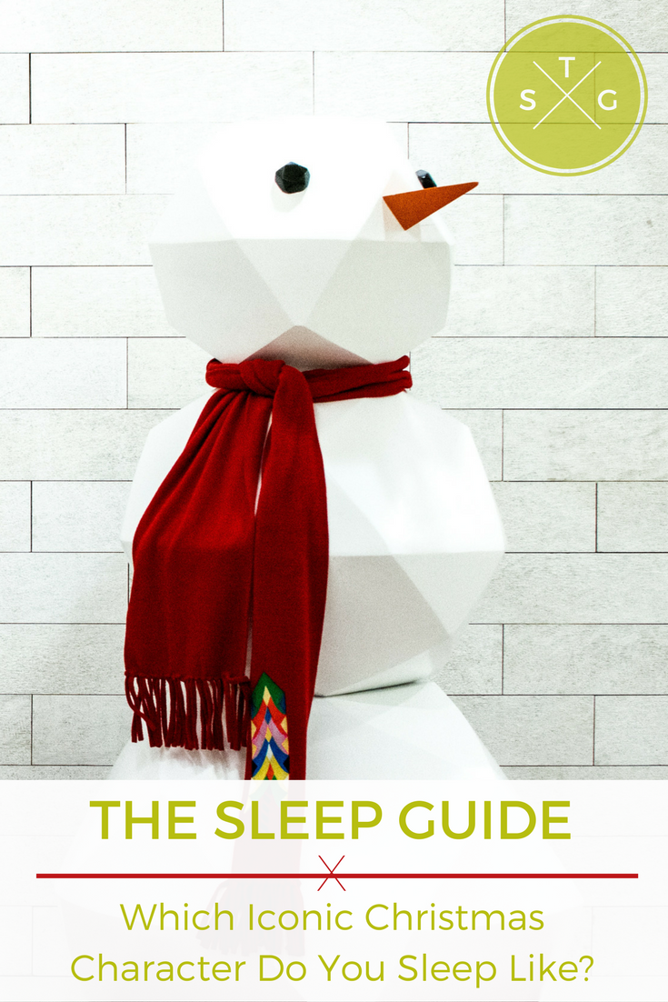 The Sleep Guide: Which Iconic Christmas Character Do You Sleep Like ...