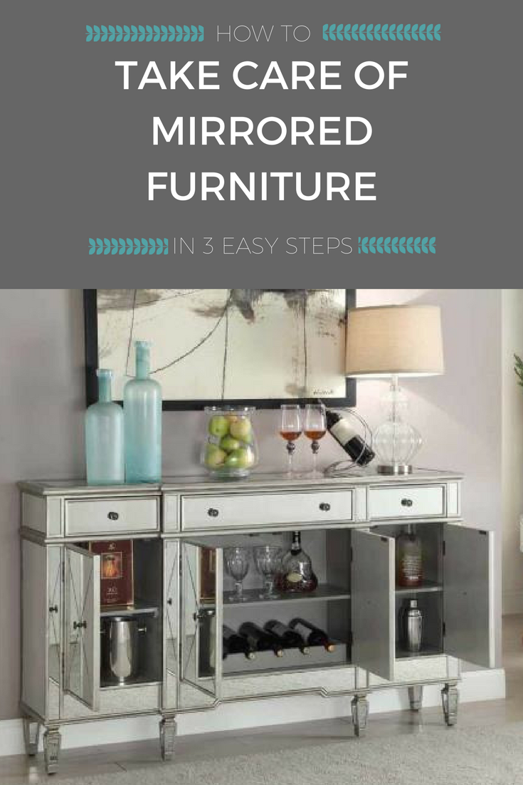 How to Take Care of Mirrored Furniture in 3 Easy Steps | Weekends Only Furniture and Mattress