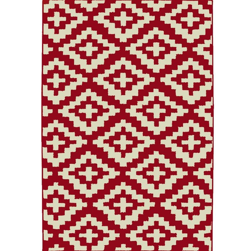 Garland Southwest Chili Red 5x8 Rug | Weekends Only Furniture & Mattress