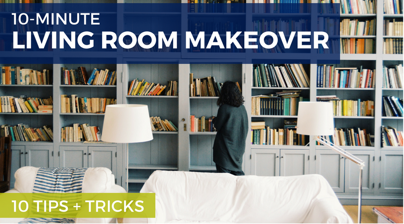 10-Minute Living Room Makeover: 10 Tips + Tricks | Weekends Only Furniture & Mattress