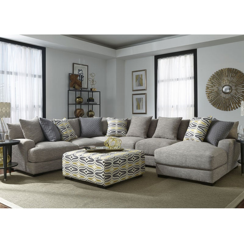 Barton 5 Piece Chaise Sectional | Weekends Only Furniture & Mattress