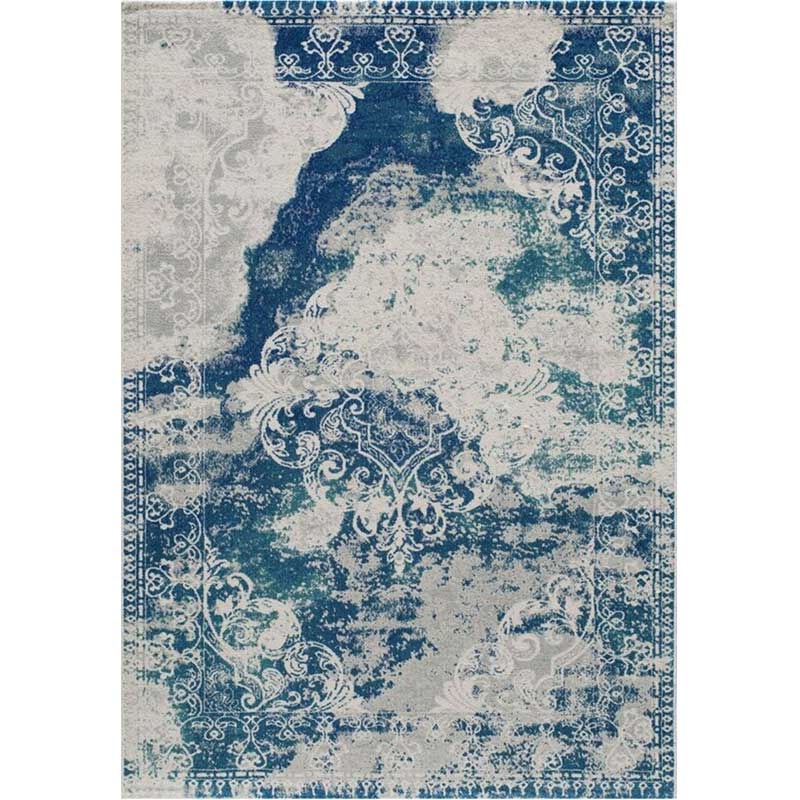 Loft Blue Polypropylene 8x10 Rug | Weekends Only Furniture & Mattress