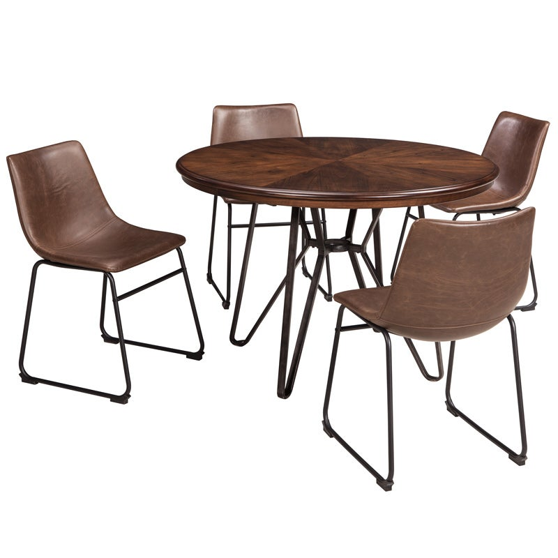 Ashley Centair 5 Pc Modern Dining Set | Weekends Only Furniture & Mattress