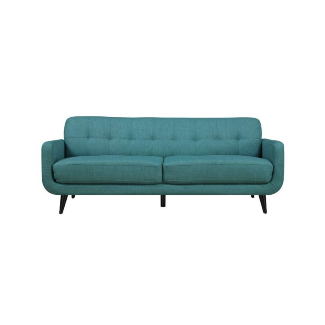 Hadley Aqua Blue Mid-Century Modern Sofa | Weekends Only Furniture & Mattress